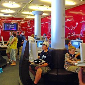 Интернет-кафе Домбая