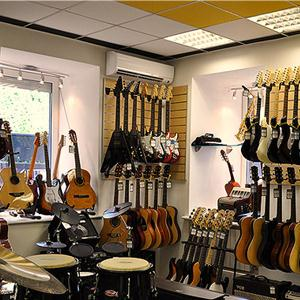 Музыкальные магазины Домбая