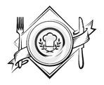 Глобус - иконка «ресторан» в Домбае